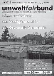 umweltfairbund - BUND Ortsverband Darmstadt