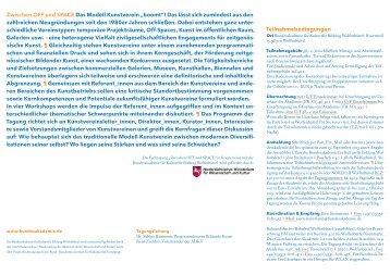 Programm - Bundesakademie für Kulturelle Bildung,Wolfenbüttel