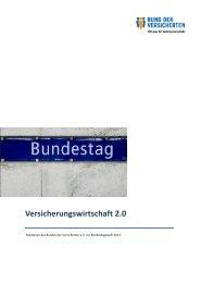 BdV-Positionspapier - Bund der Versicherten e.V.