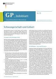GP_Infoblatt - Bundesministerium für Gesundheit