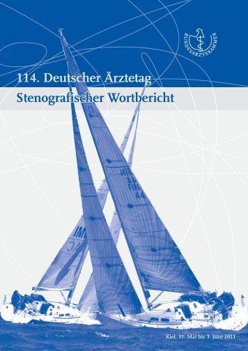 Wortbericht - Bundesärztekammer