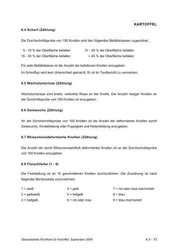 KARTOFFEL - Bundessortenamt