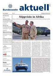 Stippvisite in Afrika - Bundeswehr