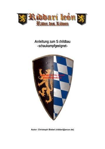 Anleitung zum Schildbau -schaukampfgeeignet- - Burg Assum