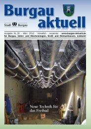 Neue Technik für das Freibad - Stadt Burgau