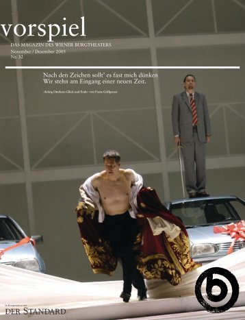 Nach den Zeichen sollt' es fast mich dünken Wir stehn ... - Burgtheater