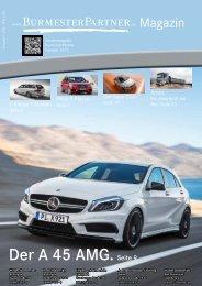 Ausgabe 1 2013 - Walter Burmester GmbH