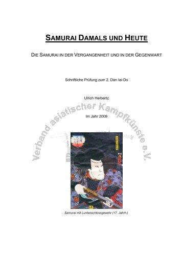 Samurai! Damals und heute (Ulrich Herbertz)