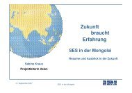 SES in der Mongolei dt - Berlin Business Location Center