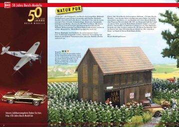 50 Jahre Busch-Modelle Busch Modelle