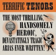Terrific Tenors Booklet - Buywell