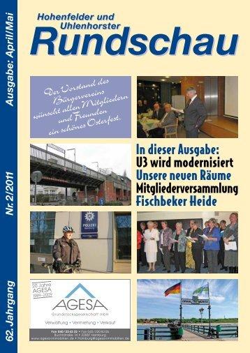Rundschau 02 / 2011 - Bvhu.de
