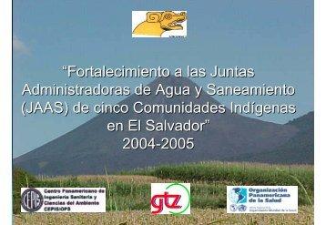El Salvador - BVSDE