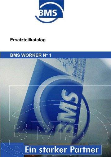 Pos. Art.-Nr. Bezeichnung Gewicht in kg Bilder 1 - BMS Bau ...