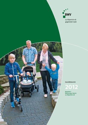 Geschäftsbericht 2012 - BWV