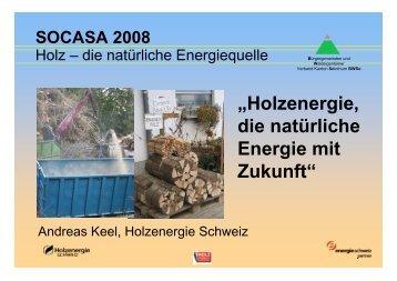 """""""Holzenergie, die natürliche Energie mit Zukunft"""" - BWSo"""