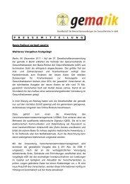 Basis-Rollout verläuft positiv - Pressemitteilung der gematik