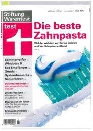 Die beste Zahnpasta