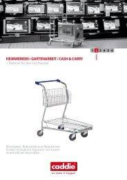 HEIMWERKEN / GARTENARBEIT / CASH & CARRY - Caddie