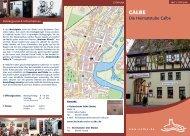 Die Heimatstube Calbe - Die Rolandstadt Calbe (Saale)