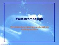 Wertstromdesign - Verschwendung beseitigen ... - Call-a-Consultant