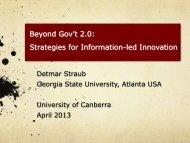 slides (8Mb PDF) - University of Canberra