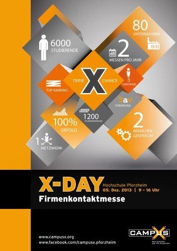 Firmenkontaktmesse - CAMPUS X