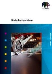 Bodenkompendium - Caparol Farben AG