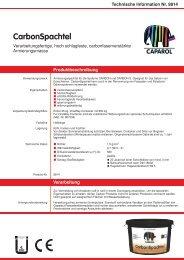 Technische Information Nr. 9814 - Caparol