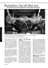 Rostschutz: Aus alt blast neu - Carblast