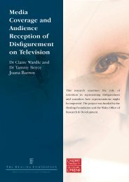 Media Coverage and Audience Reception of ... - Cardiff University