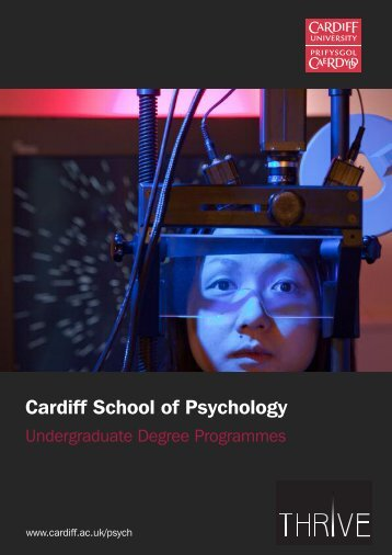 Cardiff School of Psychology - Cardiff University