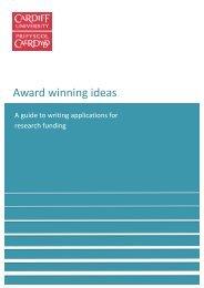 RIES Brochure FINAL - Cardiff University