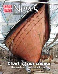 January's issue of Cardiff University News