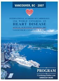 Final Program (as a pdf) - Cardiology Online