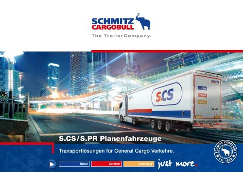 S.CS/S.PR Planenfahrzeuge - Schmitz Cargobull AG