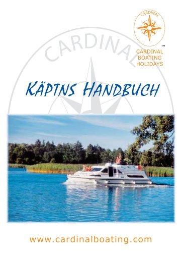 KÄPTNS HANDBUCH - Cardinal Boating