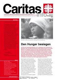 Den Hunger besiegen - Caritas