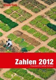Finanzbericht 2012 - CARITAS - Schweiz