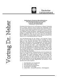 Die Herausforderungen für die Caritas - Vortrag Peter Nehert beim ...