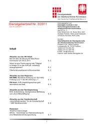 Dienstgeberbrief Nr. 3/2011 - Caritas