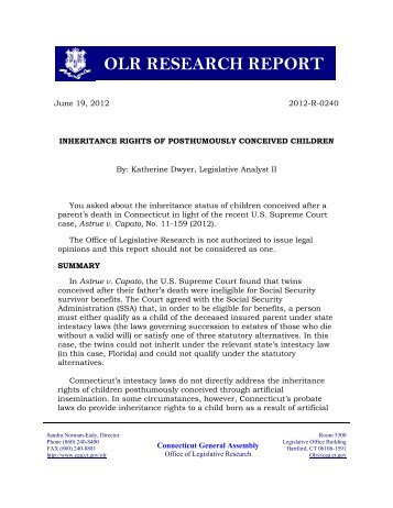 olr research report While there is a large body of empirical research on firearms and violence, there  is  while much has been learned, much remains to be done, and this report.