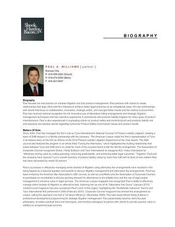 Print-Friendly PDF - Shook, Hardy & Bacon LLP