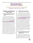 Environmental & Chemical Update - Shook, Hardy & Bacon LLP - Page 2