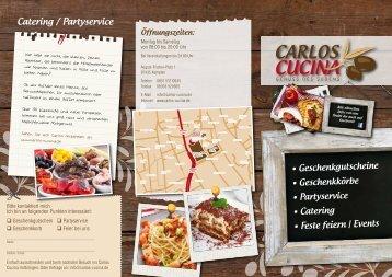 Catering / Partyservice - carlos cucina