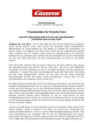 Traumboliden für Porsche-Fans (Juni 2013) - Carrera