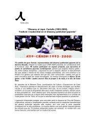 """""""Disseny al Japó. Cartells (1993-2000). Tradició i modernitat en el ..."""