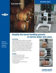 Wine Barrel Handler - Cascade Corporation
