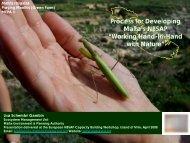 Malta - NBSAP development