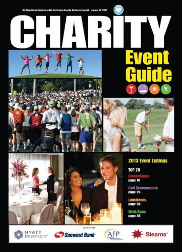 Charity Event Guide - CBJonline.com